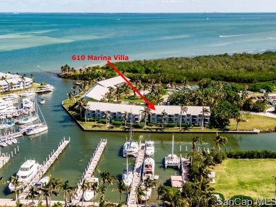 Captiva Condo For Sale: 610 Marina Villas #610