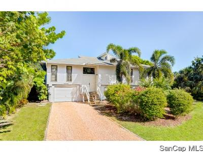 Sanibel Single Family Home For Sale: 4460 Waters Edge Lane