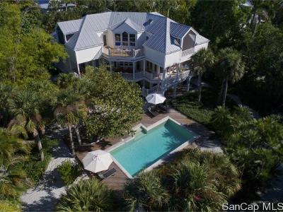 Sanibel Single Family Home For Sale: 490 Sawgrass Pl