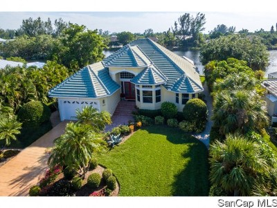 Sanibel Single Family Home For Sale: 3239 Twin Lakes Ln