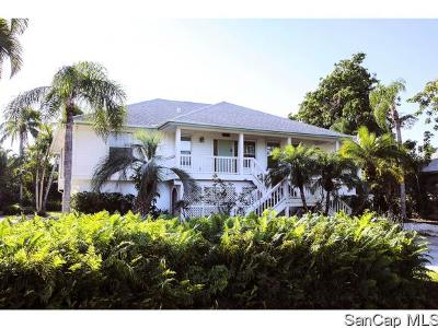 Sanibel Single Family Home For Sale: 1190 Sand Castle Road