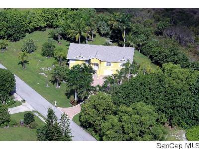 Sanibel Single Family Home For Sale: 580 Lake Murex Cir