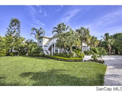 Sanibel Single Family Home For Sale: 335 E Gulf Dr