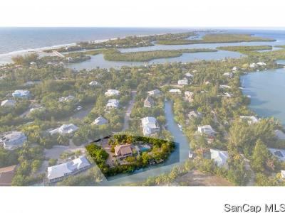 Sanibel Single Family Home For Sale: 2464 Blind Pass Court
