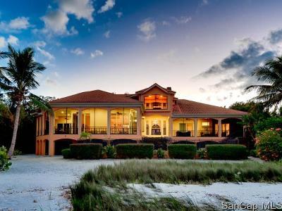 Sanibel Single Family Home For Sale: 1077 Bird Ln
