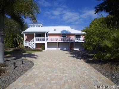 Sanibel Single Family Home For Sale: 1656 Middle Gulf Dr