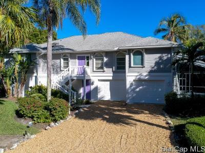 Sanibel Single Family Home For Sale: 4791 Rue Helene