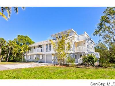 Sanibel Single Family Home For Sale: 2490 Coconut Drive