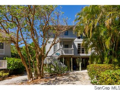 Captiva Single Family Home For Sale: 10 Sunset Captiva Ln