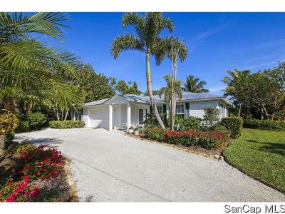 Sanibel Single Family Home For Sale: 3825 Coquina Dr