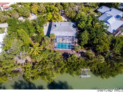 Sanibel Single Family Home For Sale: 5739 Pine Tree Dr