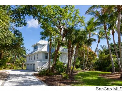 Sanibel Single Family Home For Sale: 3050 W Gulf Dr