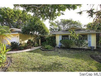 Sanibel Single Family Home For Sale: 1020 White Ibis Dr