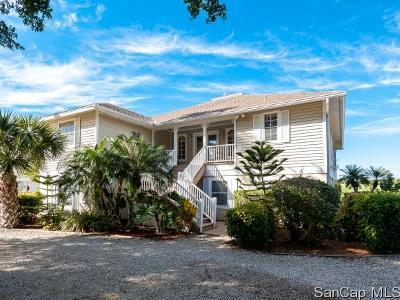 Sanibel Single Family Home For Sale: 1582 Sand Castle Rd