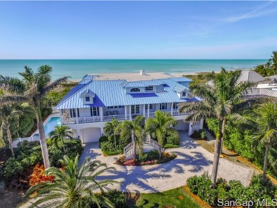 Captiva Single Family Home For Sale: 17030 Captiva Dr