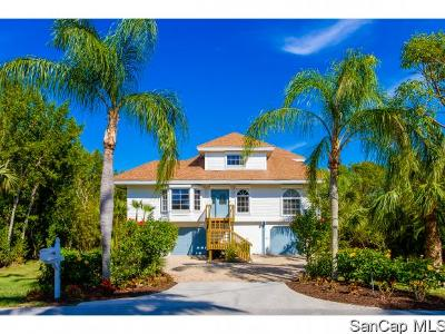 Sanibel Single Family Home For Sale: 610 Hideaway Ct