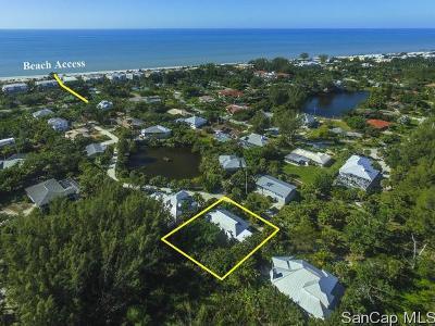 Sanibel Single Family Home For Sale: 236 Hurricane Ln