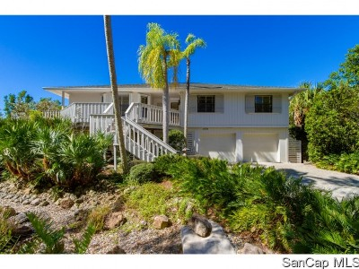 Sanibel Single Family Home For Sale: 4439 Gulf Pines Dr