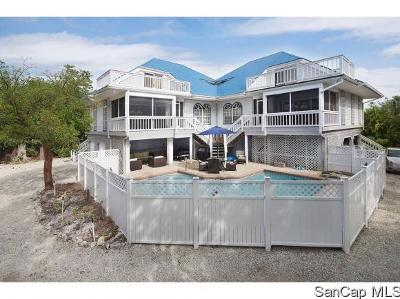 Sanibel Single Family Home For Sale: 317 E Gulf Dr