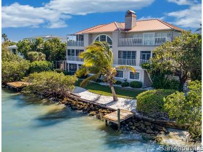 Sanibel Single Family Home For Sale: 1552 San Carlos Bay Dr