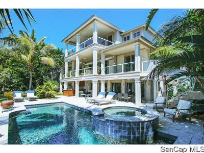 Sanibel Single Family Home For Sale: 4431 Waters Edge Ln