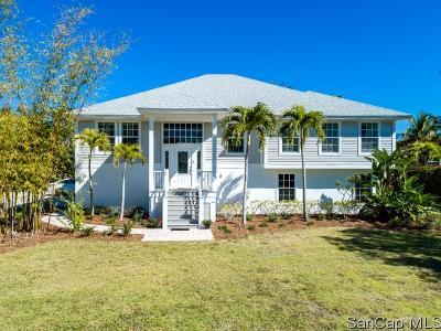 Sanibel Single Family Home For Sale: 1120 Shell Basket Ln
