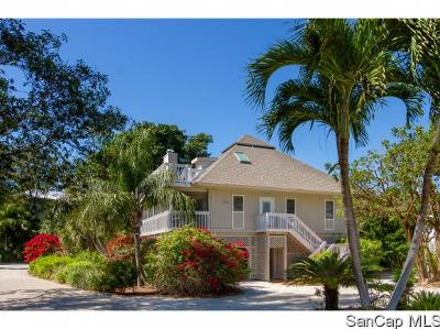 Captiva Single Family Home For Sale: 9 Sunset Captiva Ln
