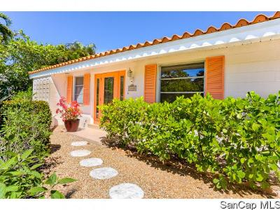 Sanibel Single Family Home For Sale: 1338 Tahiti Drive