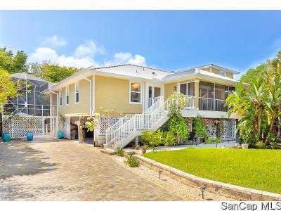 Sanibel Single Family Home For Sale: 725 Donax Street