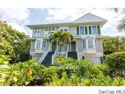 Sanibel Single Family Home For Sale: 532 Sea Oats Dr