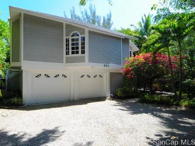 Sanibel Single Family Home For Sale: 660 Oliva St