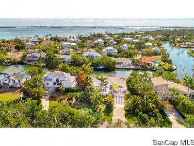 Sanibel Single Family Home For Sale: 1720 Dixie Beach Blvd