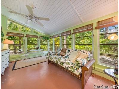 Sanibel Single Family Home For Sale: 325 E Gulf Dr