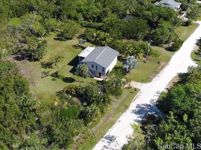 Sanibel Single Family Home For Sale: 1717 Atlanta Plaza Dr