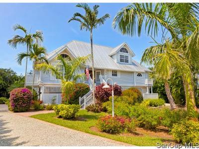 Sanibel Single Family Home For Sale: 243 Daniel Drive