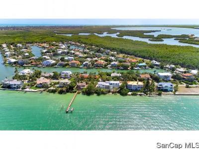 Sanibel Single Family Home For Sale: 1540 San Carlos Bay Dr