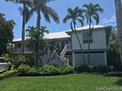 Sanibel Single Family Home For Sale: 1350 Sand Castle Rd