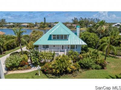 Sanibel Single Family Home For Sale: 3136 Twin Lakes Ln