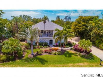 Sanibel Single Family Home For Sale: 1476 Sand Castle Rd