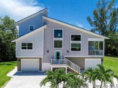 Sanibel FL Single Family Home For Sale: $825,000