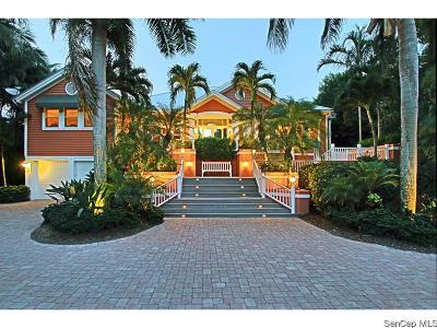 Captiva FL Single Family Home For Sale: $4,950,000