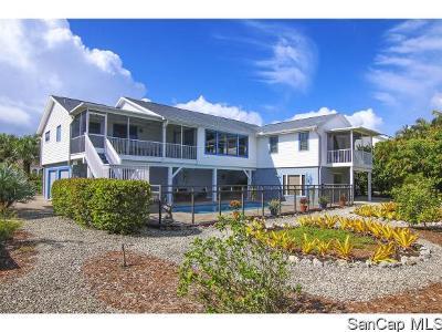 Sanibel FL Single Family Home For Sale: $845,000