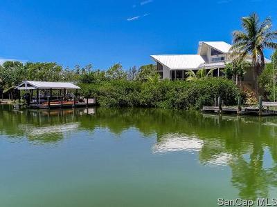 Sanibel FL Single Family Home For Sale: $1,450,000