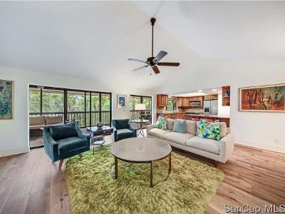 Sanibel FL Single Family Home For Sale: $610,000