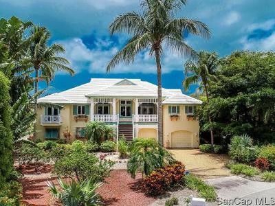 Sanibel FL Single Family Home For Sale: $1,095,000