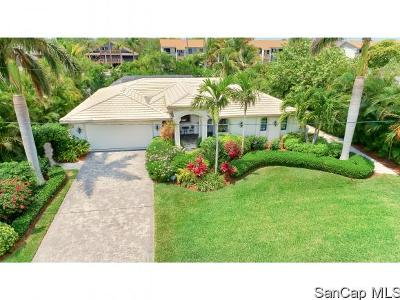 Sanibel FL Single Family Home For Sale: $1,749,000