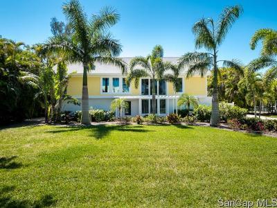 Sanibel FL Single Family Home For Sale: $875,000