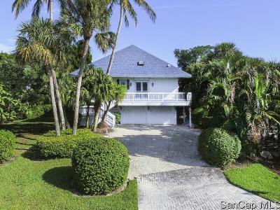 Sanibel FL Single Family Home For Sale: $889,000