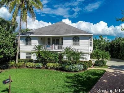 Sanibel Single Family Home For Sale: 9052 Mockingbird Dr