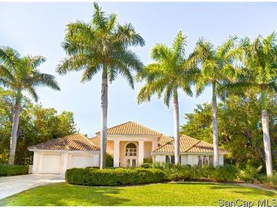 Sanibel FL Single Family Home For Sale: $1,298,000